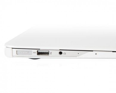 coque protection macbook air 13 iGlaze Moshi Blanc