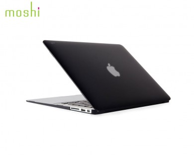 coque protection macbook air 13 iGlaze Moshi noir