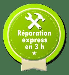 Réparation en 3 H