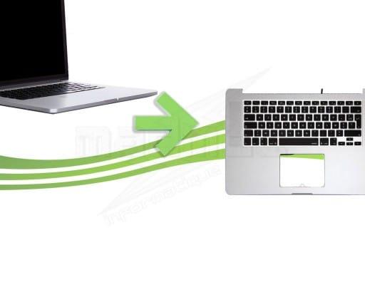 reparation clavier macbook pro retina