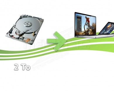 reparation disque dur macbook