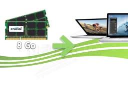 Mise à jour de la mémoire vive pour Macbook Pro (8go)