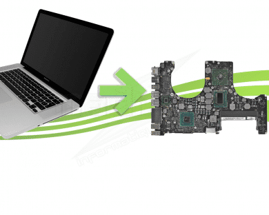 "Réparation carte mère Macbook Pro Unibody A1286 15"" 2011"