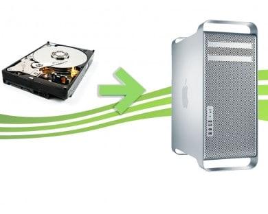 réparation disque dur mac pro