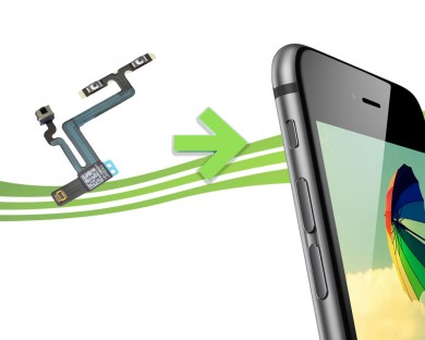 Reparation iPhone 6 nappe volume vibreur