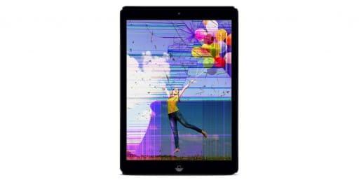 Réparation écran ipad