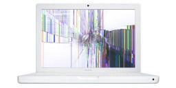 Macbook Blanc / Noir- Réparation d'écran