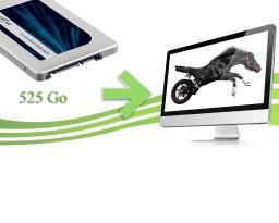 SSD Imac crucial