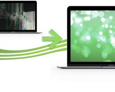 reparation ecran macbook retina 12 argent