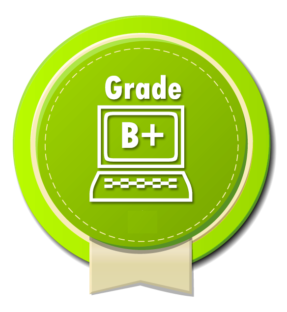 Grade B +    Bon état avec peu de rayures apparentes à moins de 20 cm