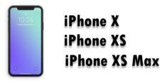 Réparation iPhone X / XS / XS Max