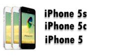 Réparations pour iPhone 5s / 5c / 5